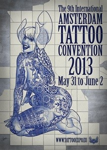 Tattoo Convention Amsterdam 2013
