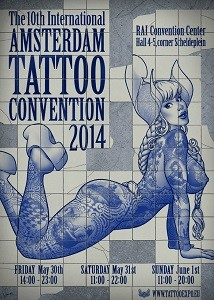 Tattoo Convention Amsterdam 2014