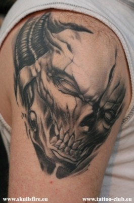 Demons and Monster Tattoos  45