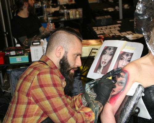 Mondial du Tatouage Paris 2016  13