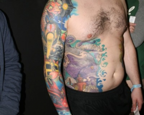 Mondial du Tatouage Paris 2016  9
