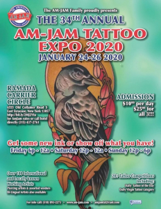 AM-JAM Tattoo Expo 2020