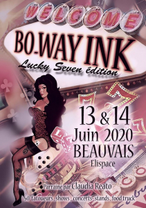Bo Way Ink Tattoo Convention 2020