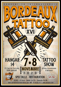 Bordeaux Tattoo Convention 2020