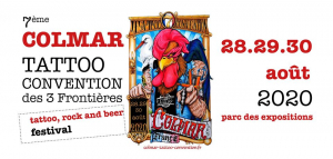 Tattoo Convention des 3 frontières  2020