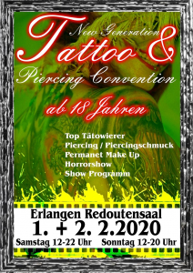 Erlangen Tattoo & Piercing Convention 2020