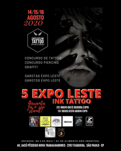 Expo Leste Ink Tattoo 2020