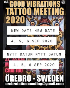 Good Vibrations Tattoo Meeting 2020