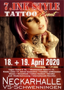 Ink Style Tattoo Event VS 2020