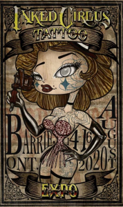 Inked Circus Tattoo Expo Barrie 2020