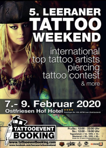 Leeraner Tattoo Weekend 2020