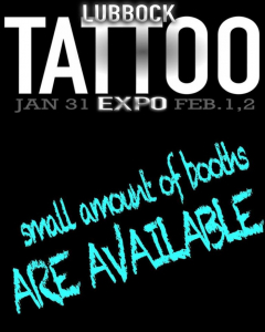 Lubbock Tattoo Expo 2020