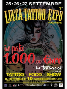 Lucca Tattoo Expo 2020