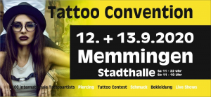 Memmingen Tattoo Convention 2020
