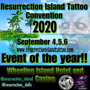 Resurrection Island Tattoo Convention 2020