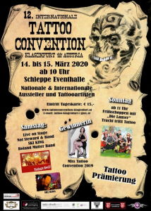 Tattoo Convention Klagenfurt 2020