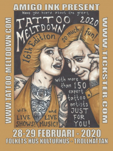 Tattoo Meltdown Convention 2020