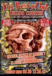 The Best of Ink Tattoo Contest 2020