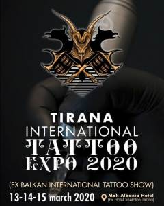 Tirana Tattoo Expo 2020